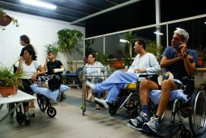 Group of people attending occupational therapy through the NDIS