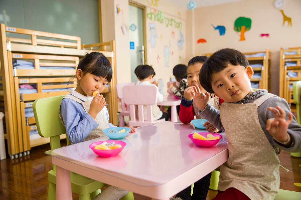 Kids inside the best Punchbowl childcare